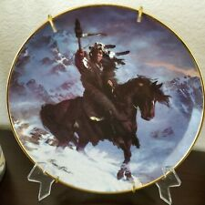 Hermon Adams Spirit Of The West Wind Indian Plate Limited Ed