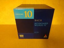 11-CD BOX BACH 2000 TELDEC DAS ALTE WERK VOLUME 10 / BACH - KEYBOARD WORKS II