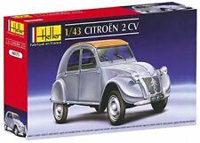 Heller 80175 - Modellino da costruire, Auto Citroen 2 Cv, scala 1:43 (U2J)
