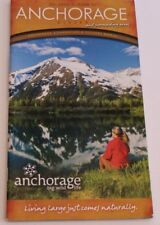 """2011 Official Guide Anchorage Alaska And Surrounding areas 6x11"""" book (MAG7)"""