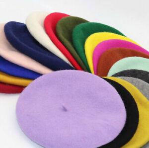 Girl Women Beanie Beret Winter Hat French Artist Hats Ski Caps Stylish Gifts Hat