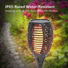 96 LED Solar Fackel Licht Flimmern Tanzende Flamme Garten Wasserdicht Lampen