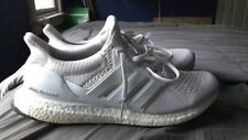 Adidas Ultra Boost 1.0 Triple White Size 12 Authentic Pre-Owned