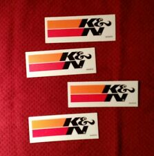 K & N DECALS STICKER BLACK NHRA DRAG OFFROAD DIRT NASCAR HOT RACING MAN CAVE