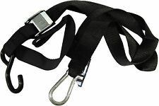 892051 - Gorillas Grip Snap Hook Motorcycle Tie Downs 38mm Wide (Black - 1 Pair)