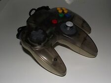 Genuine Nintendo 64 N64 Clear Jusco Grey Controller Preloved Refurbed Toggle