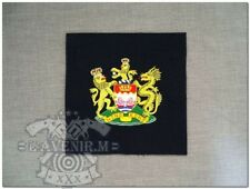 Obsolete Hong Kong Government Tinsel embroidery