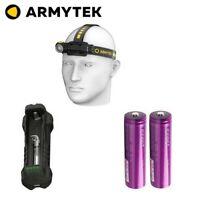 Pack Ultra Trail Frontale Armytek Wizard C2 Pro USB 2500 Lumens