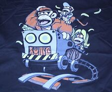 """Indiana Kong"" Indiana Jones Donkey Diddy Kong Men's Large Shirt Theyetee"