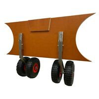 Launching Wheels Inflatable Boat Dinghy RIB Outboard Double Wheel Heavy Duty L