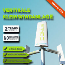 Kompakt Windturbine vertikal Haus Garten Dach Terrasse Windrad Windgenerator