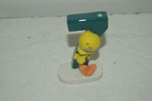 Candle Anniversary Figurine Ceramic Tweety Numeral 7 New Tweety