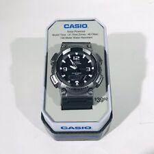 Casio AQS810W-14TN Watch Illuminator Tough Solar World Time 100 WR Stopwatch NEW