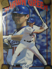 MLB Baseball Poster Shawn Green Los Angeles Dodgers