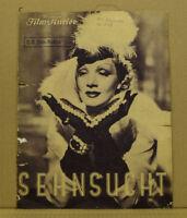 [K4-23] Ill. Film-Kurier NR.2470 Marlene Dietrich Anhelo