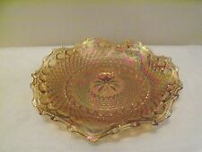 *Carnival Glass Ruffled Bowl Imperial