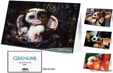 Gremlins Greeting Card Set of 12 Gizmo Mogwai Movie Party Supply Invitation Note