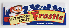 Frostie Root Beer FRIDGE MAGNET (1.5 x 4.5 inches) soda sign bottle drink frosty
