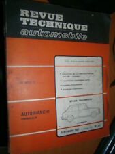 Autobianchi Primula all Models: Review Tech RTA 257