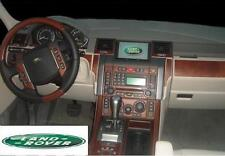 LAND RANGE ROVER SPORT INTERIOR BURL WOOD DASH TRIM KIT SET 2006 2007 2008 2009
