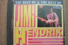 JIMI HENDRIX - The Best Of & The Rest Of (CD) . FREE UK P+P ....................