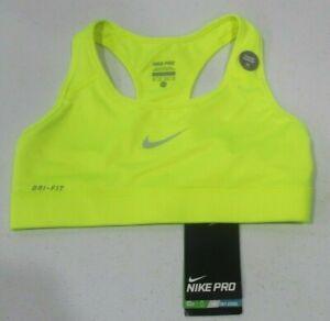 *NWT*Nike Women's Pro Classic Swoosh Bra Running Athletic Training Bra Top Sz XS