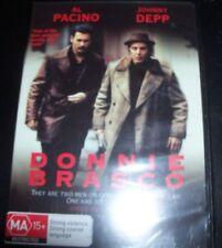 Donnie Brasco (Al Pacino Johnny Depp) (Australia Region 4) DVD – New