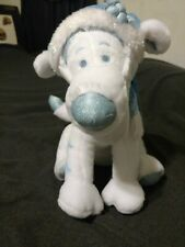 "Winnie the Pooh Tigger Plush 13"" Winter white & blue Disney Store Original"