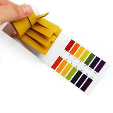 80 Strip Full Range Alkaline Acid 1-14 PH Universal Indicator Test Paper Kit