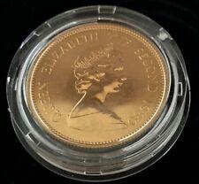 1980 Hong Kong Gold Coin $1000 Year of Monkey, 0.4708 Oz  BU in capsule