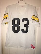 PITTSBURGH STEELERS VINTAGE RAWLINGS FOOTBALL JERSEY NFL 83 Adult Large