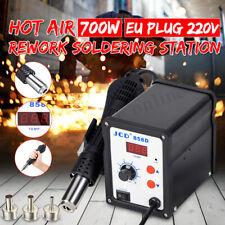 858D SMD Digital Soldering  Hot Air Gun  Iron Desoldering Rework Station 700W