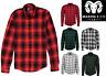 Men's Casual Plaid Flannel Long Sleeve Button Down Shirt Buffalo Plaid (S-2XL)