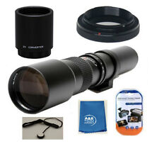 500mm / 1000mm LENS KIT For Canon T7I 77D 90D 80D T6S T6I SL3 T7 6D 7D 5D SL2