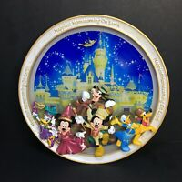 Disneyland Happiest Homecoming on Earth 50th Anniversary 2005 Plate Mickey Mouse