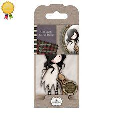 Gorjuss Rubber Mini Stamps *I LOVE YOU LITTLE RABBIT* Little Girl Card Making -8