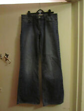Blue Moto Topshop Stretch Denim Bootcut Jeans in Size 10 - L30