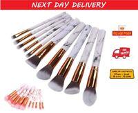 10Pcs Kabuki Make up Brush Set Buffer Powder Contour Eyeshadow Makeup Brushes