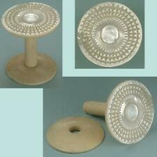 Antique Mother of Pearl Workbox Spool / Reel * English * Circa 1850