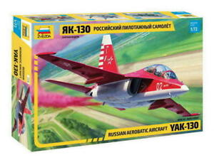 Zvezda 7316 YAK-130 Russian Aerobatic Aircraft Model Kit 1:72