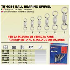 TUBERTINI TB 4081 n3 Bearing Swivel 77lb 35kg 4pz GIRELLA CUSCINETTATA TONNO