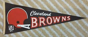Cleveland Browns Full Size 2 bar NFL football Pennant 1967