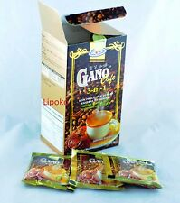 3 X Boxes Coffee Gano Excel Ganocafe 3 in 1 Ganoderma Free Expedite Shipping