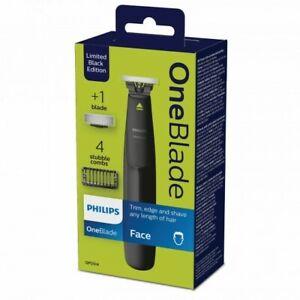 Phillips one blade Black Edition rasoir électrique, 4 sabots + 1 lame oneblade