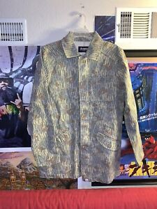 Altamont Denim Camoflauge Jacket Rare 2013