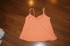 Betseyville sleep Tank Top Orange  and Pink size M