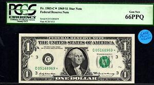 $1 1969 Late Run C* Star PCGS 66 PPQ GEM!! Only 416,000 printed, rare in GEM