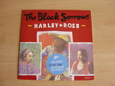 """The Black Sorrows: Harley + Rose  7"""": 1990 UK Release: Picture Sleeve"""