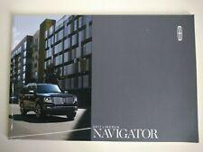 LINCOLN NAVIGATOR 3.5 GTDI V6 USA American Brochure 2017