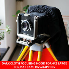 Dark Cloth Focusing Hood For 4X5 Large Format Camera Wrapping 100cm